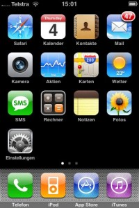 iPhone Frontend