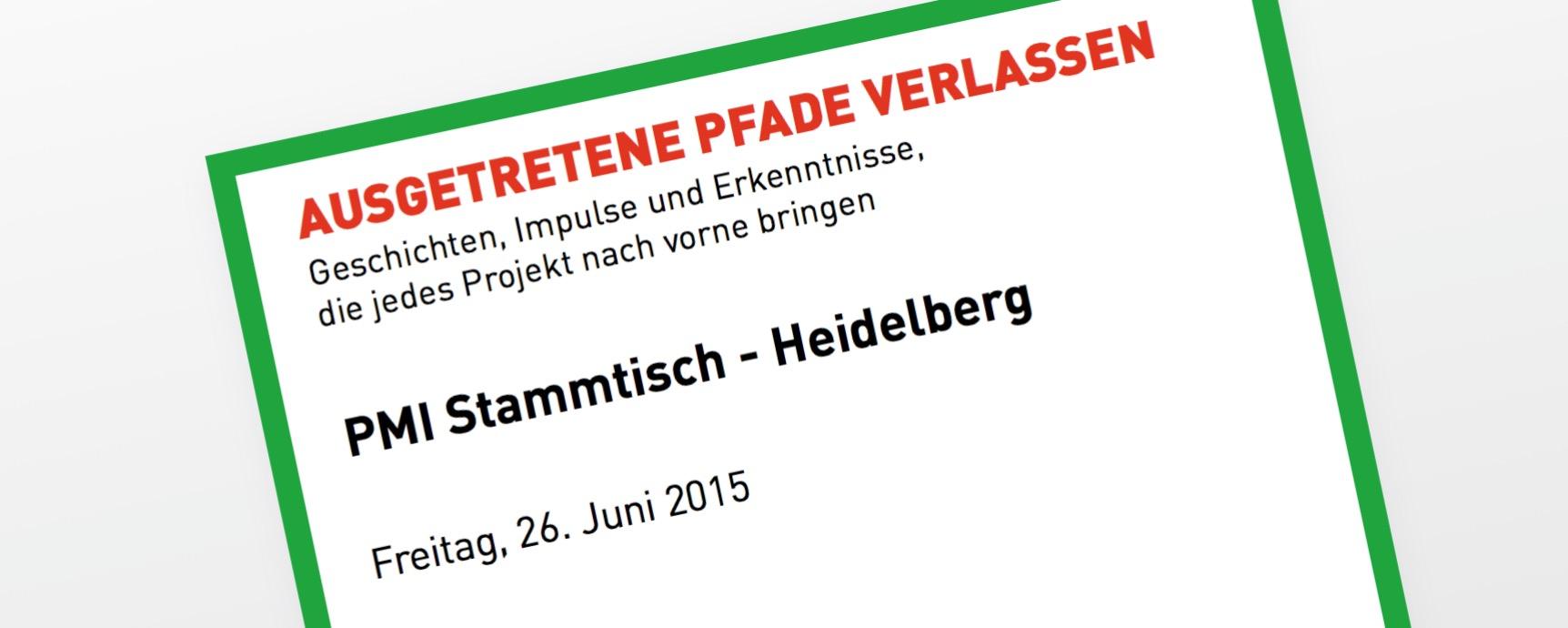 PMI Stammtisch Heidelberg